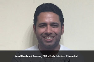 Kunal Nandwani, Founder, CEO, uTrade Solutions Private Ltd