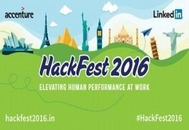 Accenture and LinkedIn Announce 'Hackfest 2016,' First-of-Its-Kind Student Challenge to Inspire